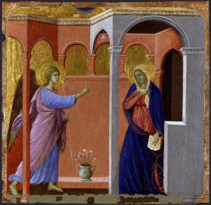 Buna Vestire Duccio