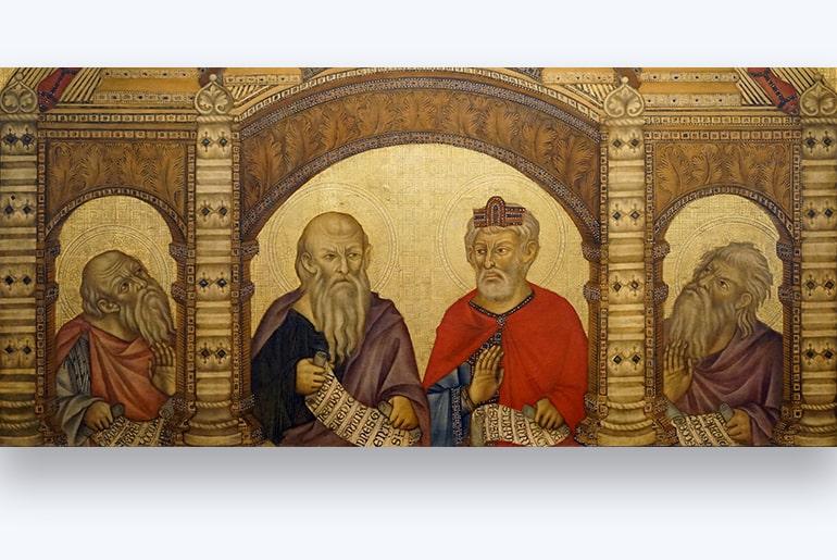 sfintii din Maesta